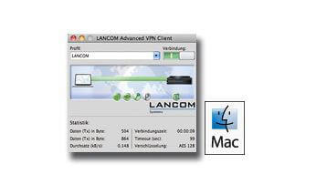 LANCOM Advanced VPN Client for MAC OS