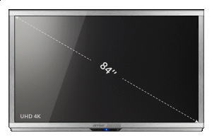 "Arrive Touchpoint 84"" Ultra-HD 4K"