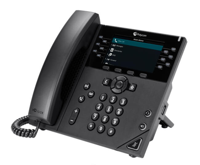 Polycom VVX 450 Business IP Phone