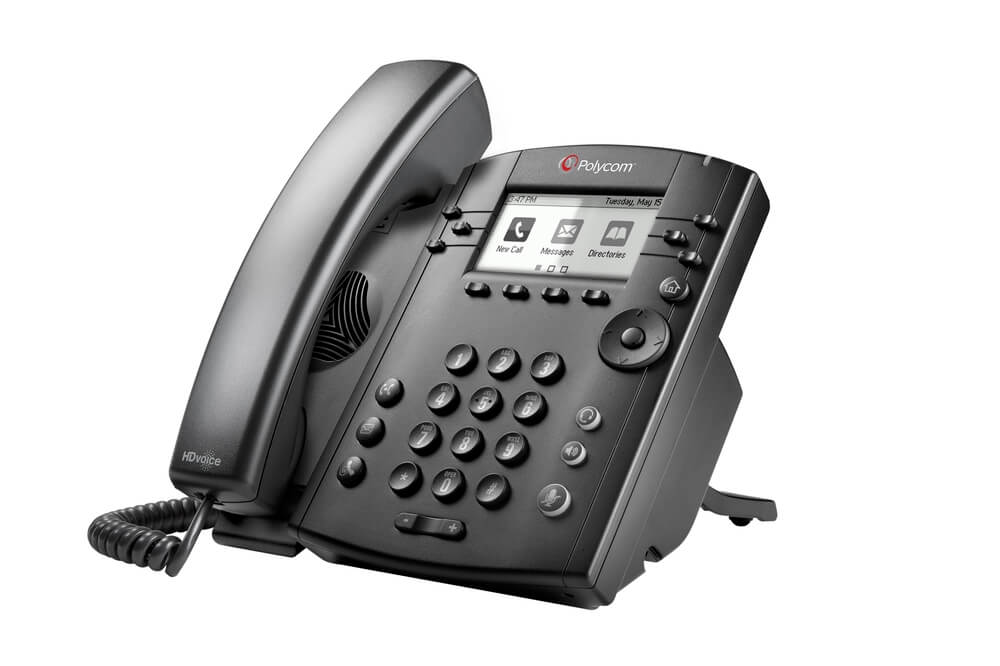 Polycom VVX 301, 311 Business Media Phones