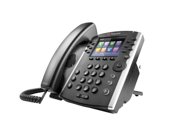Polycom VVX 401 and 411 Business Media Phones