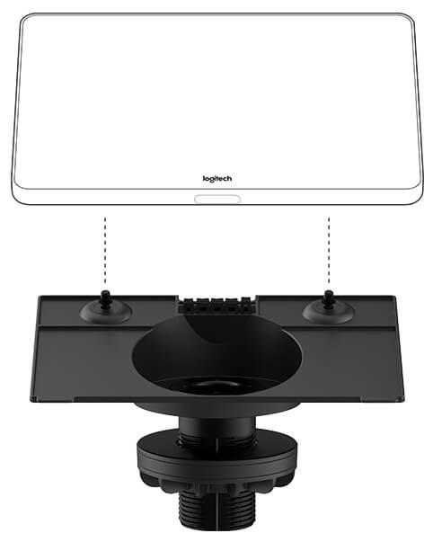 Logitech TAP Riser Desk Mount